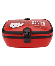 Hello Kitty Lunch Box With Handle - Red