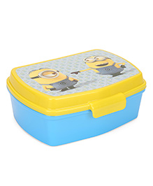 Minion Sandwich Box With Tray - Yellow
