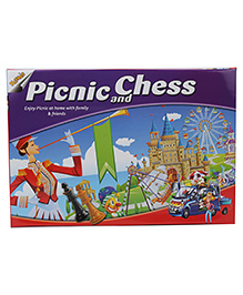 Ratnas Picnic N Chess Board Game