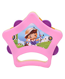 Ratnas Sargam Star Shape Dafli Toy (Color And Print May Vary)