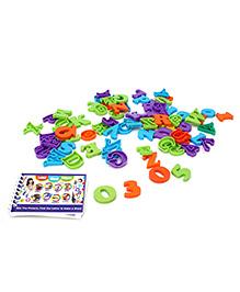 Ratnas Letter Word Picture Junior - Multi Color