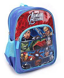 Avengers School Bag Blue - 14 Inches
