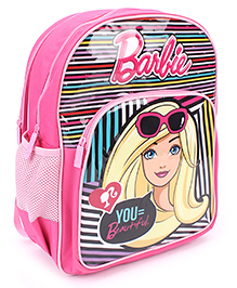 Barbie You Beautiful Print School Backpack Pink - 16 inches