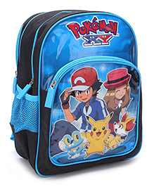 Pokemon School Backpack Blue - 14 inches