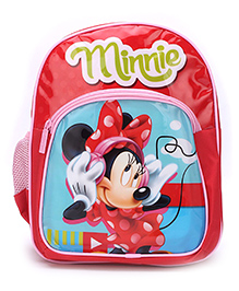 Disney Minnie Mouse School Backpack Red - 12 inches