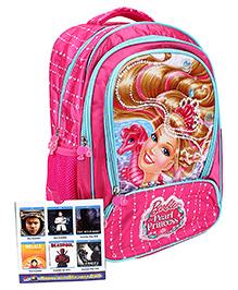 Barbie Mermaid Princess School Backpack Pink - 16 inches