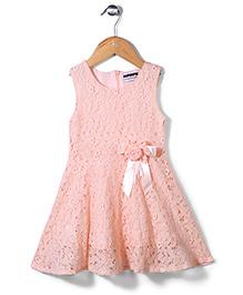 Superfie Rose Print Dress - Pink