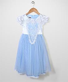 Superfie Princess Dress With Hood - Blue