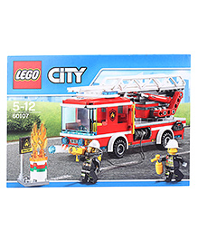 Lego City Fire Fire Ladder Truck - About 214 Pieces