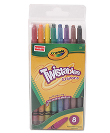Funskool Crayola 8 CT Twistable Crayons Multicolor - Pack Of 8