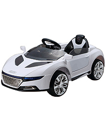 Marktech B Wild A228 Sedan Battery Operated Car Ride On - White