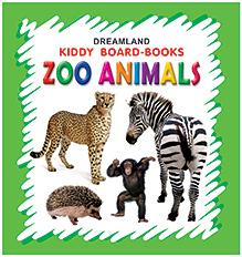 Kiddy Board Book - Zoo Animals
