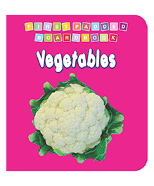 First Padded Board Book - Vegetables