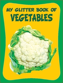 My Glitter Book - Vegetables