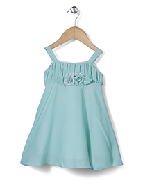 Little Coogie Tent Style Dress - Aqua Blue