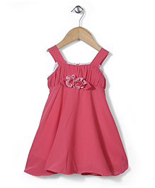 Little Coogie Tent Style Dress - Pink