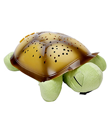 Playmate Turtle With Night Sky Constellations - Dark Green