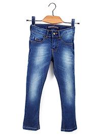 Trombone Stylish Jeans Pant - Blue