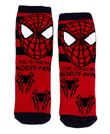 Mustang Ankle Length Socks - Red