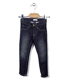 KR Stylish Jeans Pant - Dark Blue