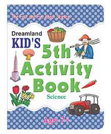 Kid's 5th Activity Book - Environment