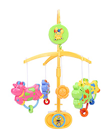 Mee Mee Cow Musical Cot Mobile - Multicolor