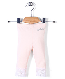 AZ Baby Stylish Leggings - Light Peach