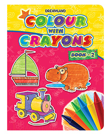 Dreamland - Colour With Crayons Book-2