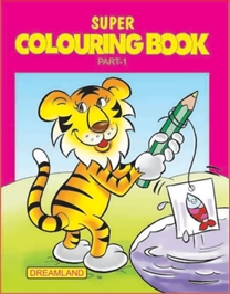 Super Colouring Book Part 1
