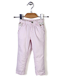 Gini & Jony Full Length Trouser - Pink