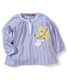 Kidsplanet Stripe Print Top - Blue