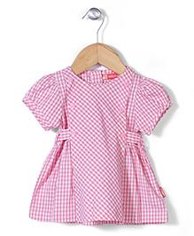 Kidsplanet Checkered Dress - Pink