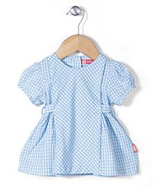 Kidsplanet Checkered Dress - Blue