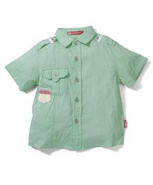 Kidsplanet Cycyle Print Shirt - Green