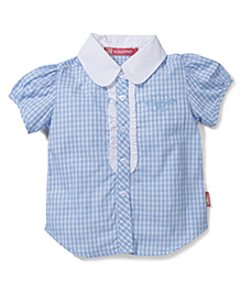 Kidsplanet Stripes Print Shirt - Blue