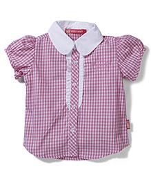 Kidsplanet Stripes Print Shirt - Pink