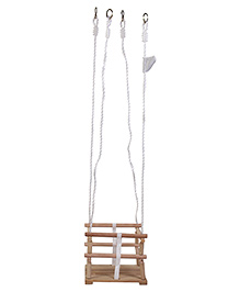 Eichhorn Outdoor Wooden Swing For Babies