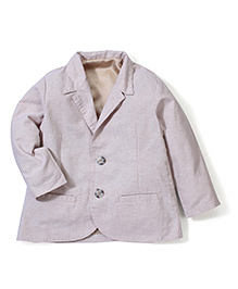Timeless Fashion Full Sleeves Blazer - Light Purple