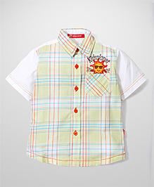 Kidsplanet Checkered Shirt - Green