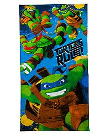 Ninja Turtle Bath Towel - Multi Color