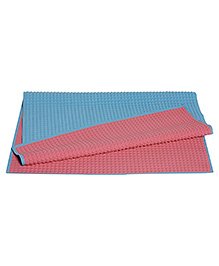 Pigeon Air Filled Rubber Sheet For Baby Blue