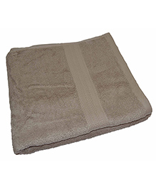 Mom's Home Super Soft Organic And Bamboo Kids Bath Towel - Beige