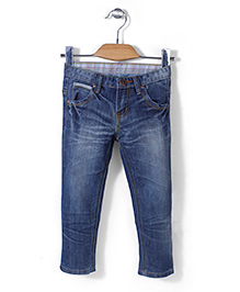 Quick Seven Super Soft Denim Pants - Blue