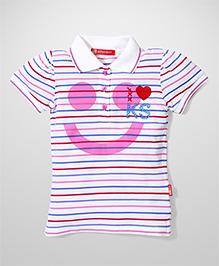 Kidsplanet Printed T-Shirt - Pink