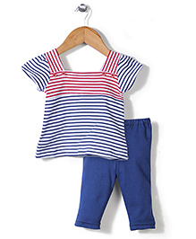 Childhood Leggings & Top Set - Blue