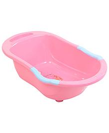 Babyhug Baby Bath Tub Printed - Pink And Blue