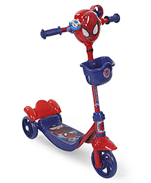 Marvel Spiderman Scooter - Blue And Red