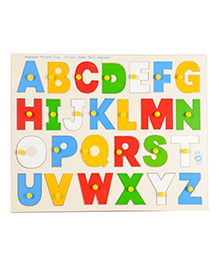 Skillofun Alphabet Picture Wooden Tray