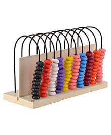 Skillofun Wooden Abacus Turn Around 10-10