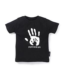 Tantra Half Sleeves T-Shirt - Black